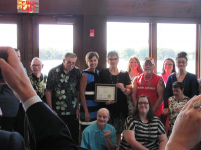 21st Group Home received Governor's Award